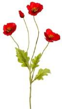 """Poppy Spray, 23.6""""- Red"""
