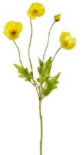 "Poppy Spray, 23.6""- Yellow"