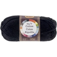 24/7 Cotton Yarn- Black