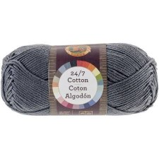 24/7 Cotton Yarn- Charcoal