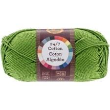 24/7 Cotton Yarn- Grass