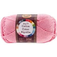 24/7 Cotton Yarn- Pink