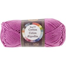 24/7 Cotton Yarn- Rose