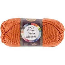 24/7 Cotton Yarn- Tangerine