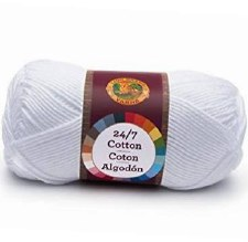 24/7 Cotton Yarn- White