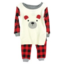 Hot Cocoa 2pc PJ Set- 24M