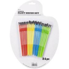 Paint Brush Set, 24pc