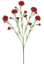 """Carnation Spray, 25.5""""- Red"""