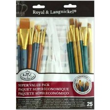 Paint Brush Variety Value Pack, 25ct