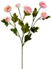 "Ranunculus Spray, 26""- Pink"