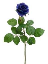 "Confetti Large Rose Spray, 27.5""- Blue"