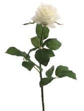 "Confetti Large Rose Spray, 27.5""- Cream"