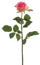 "Confetti Large Rose Spray, 27.5""- Pink"