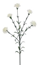 "Mini Carnation Spray, 27.5""- Cream"