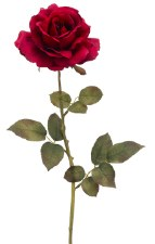 "Queen Rose Spray, 28""- Red"