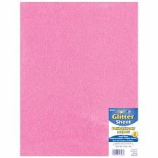 Light Pink Glitter Foam Sheet - 2mm
