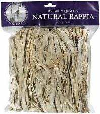 Natural Raffia, 2oz