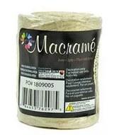 Macrame 2ply Bleached Jute, 75 yards