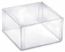 """Clear Favor Box, 3.75"""" x 3.75"""" x 2"""""""