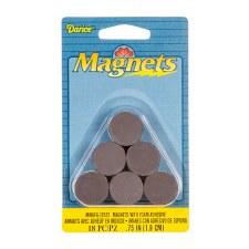 "Darice Magnets- Adhesive 3/4"" Round Discs"