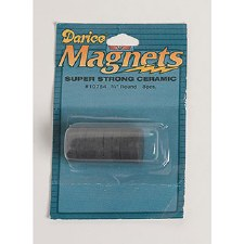 "Darice Magnets- 3/4"" Round Super Strong Discs"