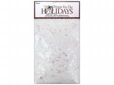 Darice Holiday Snow with Iridescent Flakes