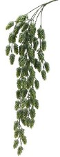 "Hops Hanging Bush, 30.5""- Frosted Green"