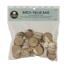Birch Rounds, 30pc