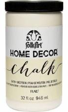 FolkArt Home Decor Chalk Paint 32oz- Sheepskin