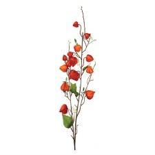 "Fall Floral Stems- Chinese Lantern Spray, 35"""