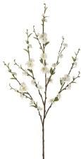 """Cherry Blossom Spray, 39""""- White"""
