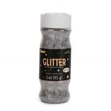Glitter Fine 3 oz - Silver