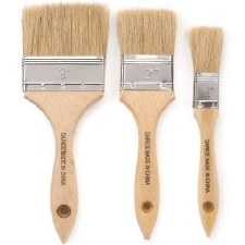 Bristle Brush Set, 3pk