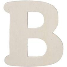 "Wood Letter, 4.25""- B"