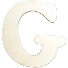 "Wood Letter, 4.25""- G"