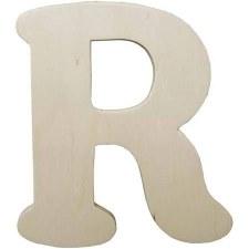 "Wood Letter, 4.25""- R"