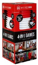 Wicked Big Sports- 4-in-1 Party Games