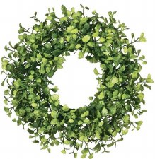 "Maidenhair Wreath, 10"""