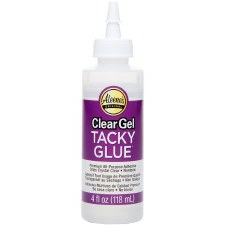 Aleene's Clear Gel Tacky Glue- 4 oz.