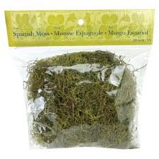 Spanish Moss, 4oz- Bright Green