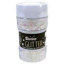 Glitter Jar, 4oz- Cystal