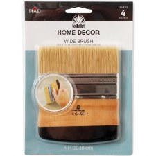 FolkArt Home Decor Tools- Wide Brush, 4""