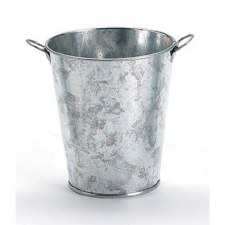 "4"" x 3"" Galvanized Bucket"