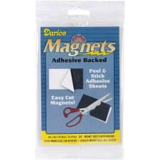 Darice Magnetic Adhesive Sheets, 3pk