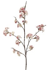 "Cherry Blossom Spray, 42""- Pink & Cream"