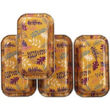 Fall Mini Loaf Pans, 4pc