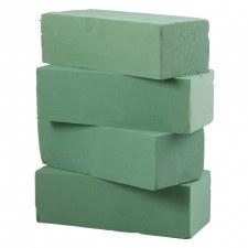 "Wet Foam Brick, 3""x4""x9""- 4pk"