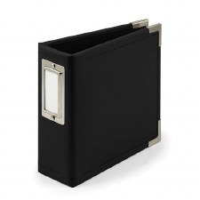 We R Memory Keepers 4x4 Album- Black