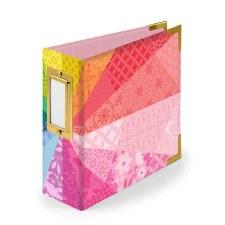 We R Memory Keepers 4x4 Album- Color Wheel