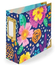 We R Memory Keepers 4x4 Album- Floral